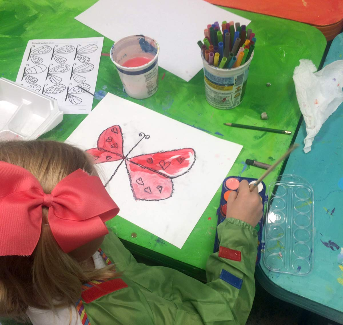 butterfly-painting