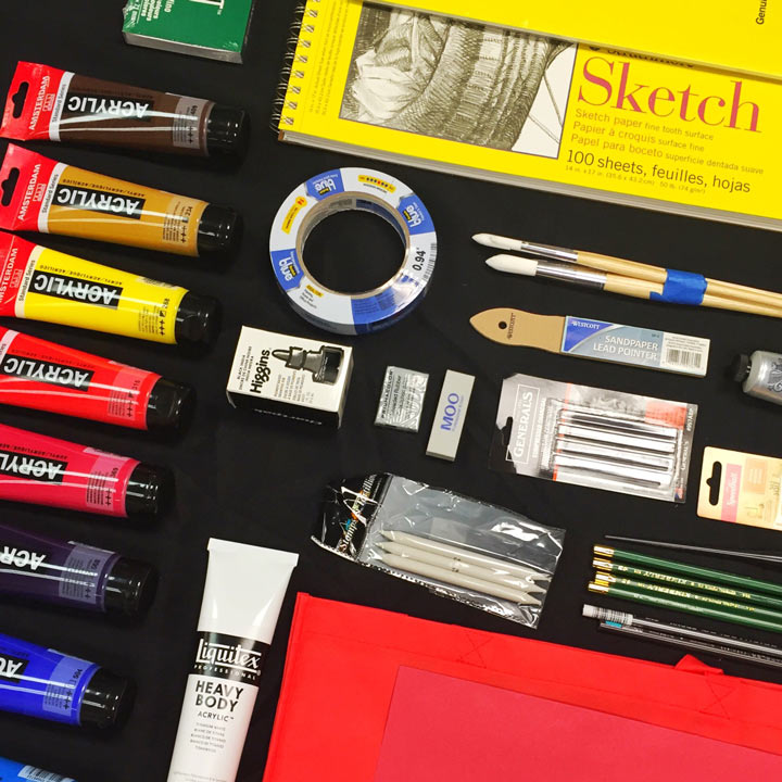 How To Do Art Supplies